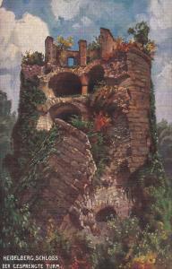 HEIDELBERG, Baden Wurttemberg, Germany, 1900-1910's; Schloss Der Gesprengte Turm
