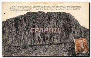 Old Postcard Le Puy en Velay L & # 39ensemble Organs of d & # 39Esplay