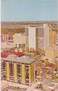 Bird's Eye View of the Mayo Building, Mayo Clinic, Rochester, Minnesota 1970