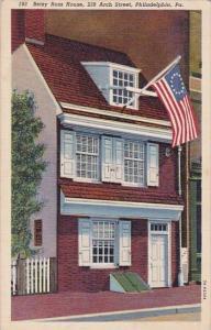 Pennsylvania Philadelphia Betsy Ross House 239 Arch Street Philadelphia