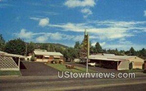 El Rancho Motel - Coeur d'Alene, Idaho ID