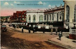 CPA DEAUVILLE - Le Casino et Normandy-Hotel (515677)