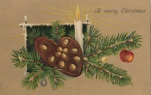 CHRISTMAS, 1900-10s; Cookie Ornament