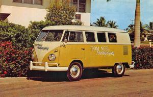 Fort Lauderdale FL Tom Neel Photography VW Van Postcard