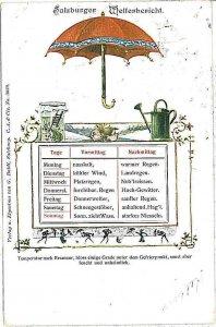VINTAGE POSTCARD: AUSTRIA  - GRUSS AUS: SALZBURG 1898