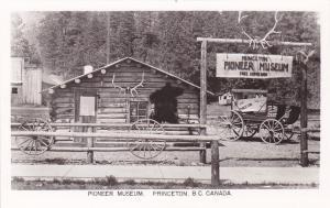 RP: Pioneer Museum , PRINCETON , British Columbia , Canada , 20-40s