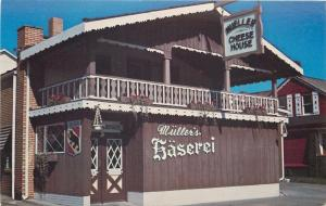 Sugarcreek Ohio~Mullers Cheese House~Baserei 1950s PC