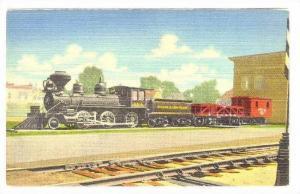 Memorial Engine  3 Spot  D.& I. R. R. R., Two Harbors, Minnesota, 1930-1940s