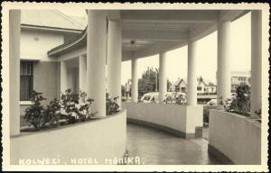 congo, KOLWEZI, Hotel Manika (1940s) Real Photo
