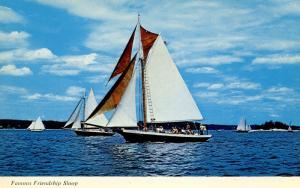 ME - Friendship. Sloop Races (Sailing)