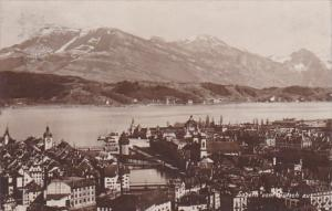 Switzerland Luzern Vom Guetsch aus 1913 Photo