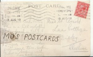 Genealogy Postcard - Arnold - Lee Cottage - Disley - Cheshire - Ref 8131A