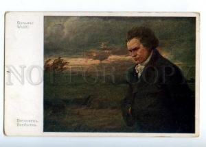 149765 Ludwig van BEETHOVEN Great COMPOSER by WULFF Vintage PC