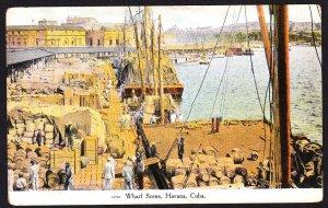 Havana Cuba - Wharf scene- early DB