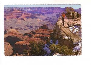 Man with Binoculars, Grand Canyon National Park, Arizona