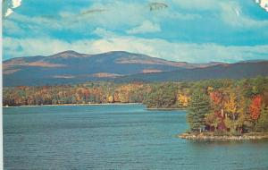 Newfound Lake and Mt. Cardigan Frank Lloyd Wright frankin