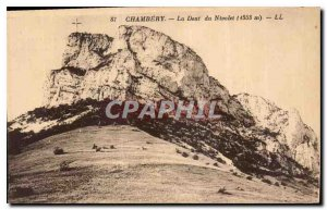 Old Postcard Chambery Dent Nivolet