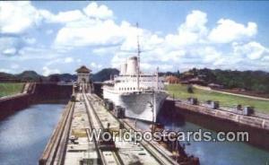 Panama Panama Canal Tourist Liner SS Kungsholm