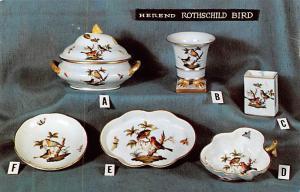 Herend Rothschild Bird Advertising 1961