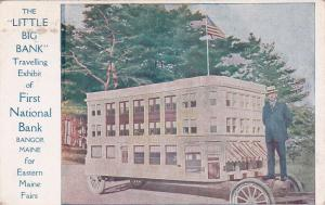 The LITTLE BIG BANK Car, First National Bank , Bangor , Maine , 00-10s