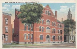 ELMIRA , New York , 1910s; The Armory, E. Church St.