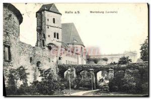 Old Postcard Halle S Moritzburg