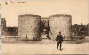 Douai France Porte d'Arras Unused Postcard F70