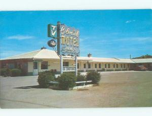 Pre-1980 MOTEL SCENE Gallup New Mexico NM W5804