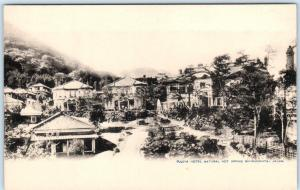 MIYANOSHITA, JAPAN   Vintage Postcard  FUJIYA HOTEL Natural Hot Springs