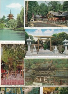 Japan Nikko Tokyo Nara and more Postcard Lot of 20 - 01.12