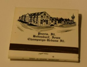Jumer's Castle Lodge Old World Elegance 30 Strike Matchbook