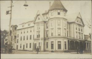 St. Stephen NB New Brunswick Windsor Hotel c1905 Real Photo Postcard