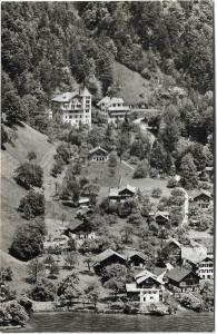 Switzerland Sundlauenen am Thunersee mit hotel Bären en Beatus 01.23