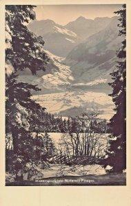 MITTERSILL PINZGAU SALZBURG AUSTRIA~WINTERSPORTPLATZ~1930s PHOTO POSTCARD