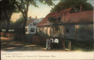 Provincetown Cape Cod MA Old House on Tremont ROTOGRAPH Postcard