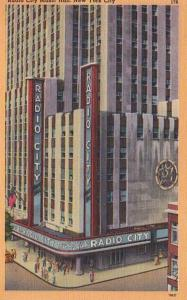 New York City Radio City Music Hall 1963