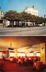 Ocean City New Jersey Oceanic Hotel Multiview Vintage Postcard KA688610
