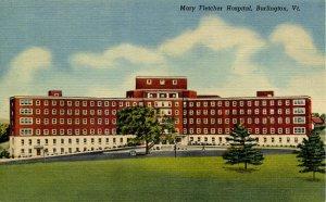 VT - Burlington. Mary Fletcher Hospital