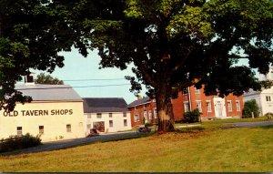 Maine Litchfield Old Tavern Shops