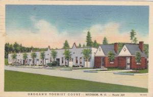 Grogan's Tourist Court, Madison, North Carolina, PU-1939