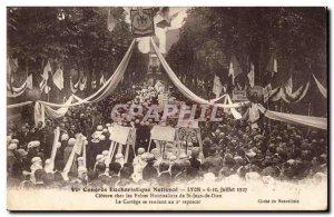 Lyon Old Postcard 6th National Eucharistic Congress 6 July 10, 1927 Closing a...