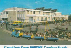 Pontins Camber Sands Sussex Swings Sliders Childrens Park Postcard