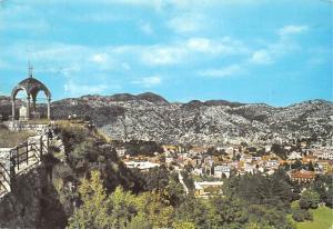 Montenegro Cetinje Orlov krs aerial view panorama 1974