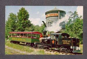 NH White Mountain Mt Central Railroad Train N Woodstock New Hampshire Postcard