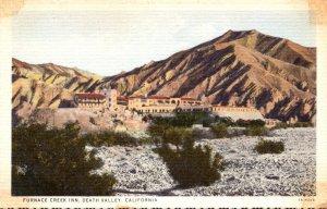 California Death Valley Furnace Creek Inn Curteich