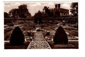 Real Photo The Tudor Garden Hampton Court Palace,  East Molesey, England,