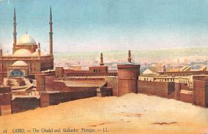 Cairo Egypt, Egypte, Africa The Citadel and Alabaster Mosque Cairo The Citade...