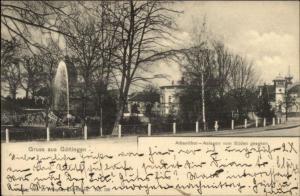 Gruss Aus Gottingen Germany c1904 Used Postcard