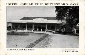 INDONESIA PC DUTCH INDIES - Hotel Belle Vue Buitenzorg Java (a1674)