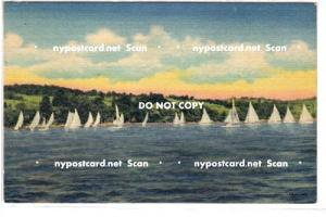 Summer Sailing, Cayuga Lake NY